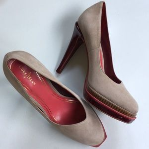 Like new Cole Haan leather heels